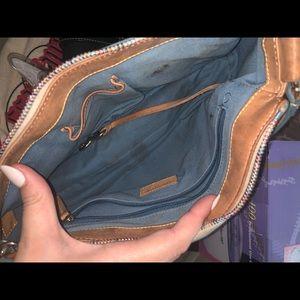 Dooney and Bourke monogram strap purse